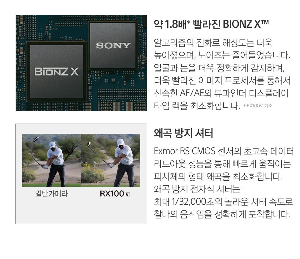 이미지 프로세서 BIONZ X